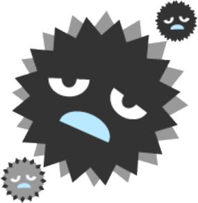 弱毒化したウイルス