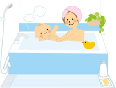 赤ちゃんと入浴剤