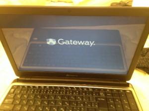 gatewayノート型パソコン