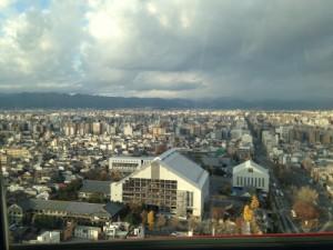 京都タワーからの景色
