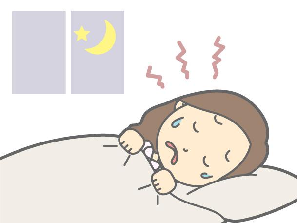寝てる時クチャクチャ